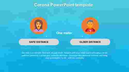 CoronaPowerPointtemplatewithbackground