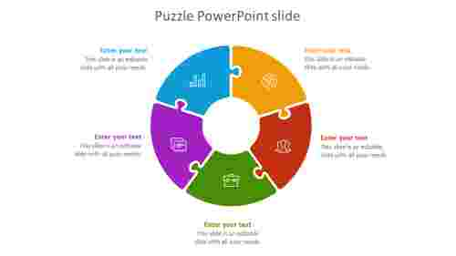 puzzle powerpoint slide-5