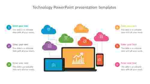 Editable technology powerpoint presentation templates