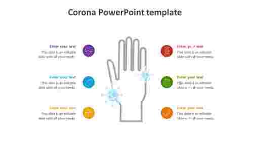 CoronaPowerPointtemplateslide