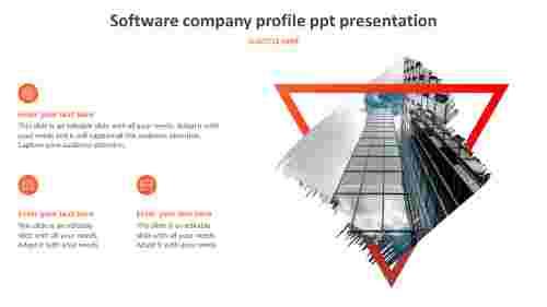 software company profile ppt presentation design