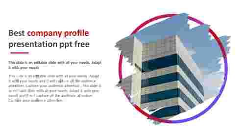best company profile presentation ppt free model