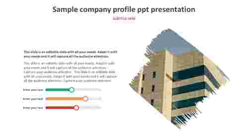 sample company profile ppt presentation for customers