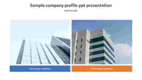 example company profile powerpoint presentation template
