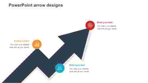 powerpoint arrow designs presentation