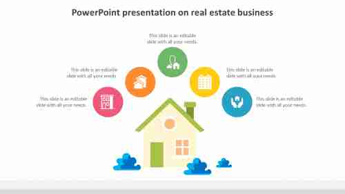 Use powerpoint presentation on real estate business