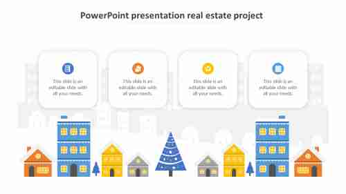 powerpoint presentation real estate project model