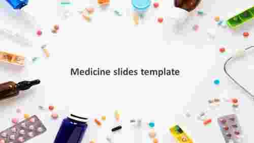 medicine google slides template slide