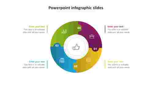powerpoint infographic slides model