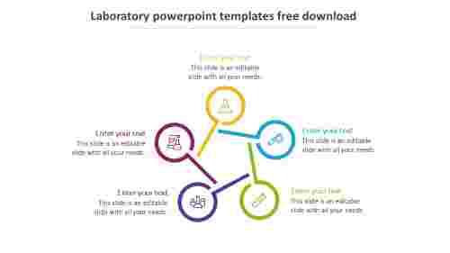 laboratory powerpoint templates free download infographics design