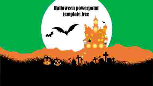 Free Halloween PowePoint template