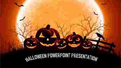 halloween powerpoint presentation templates design