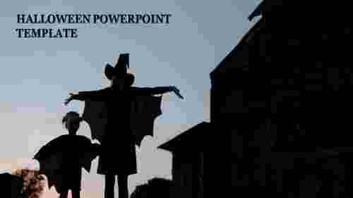 halloween powerpoint template microsoft model