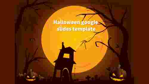 halloween google slides template design