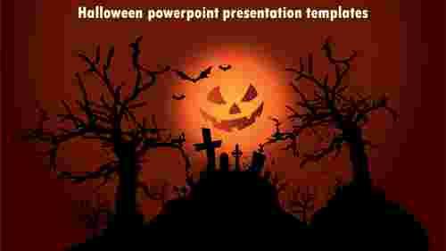 Simple halloween powerpoint presentation templates
