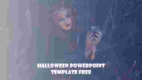 Happy halloween powerpoint template free