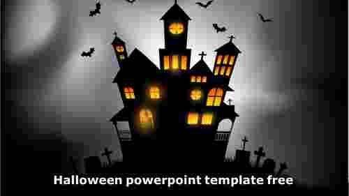 halloweenthemepowerpointscaryhouse