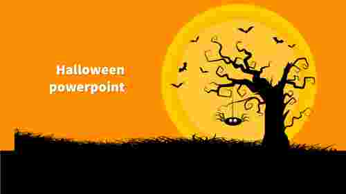 The best halloween powerpoint template microsoft