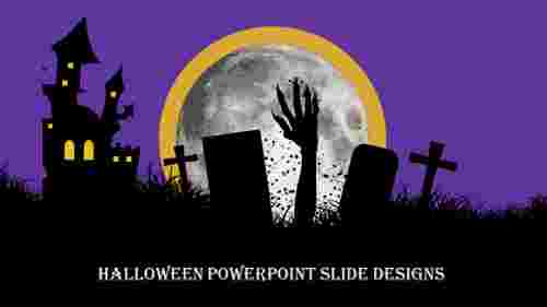 Innovative halloween powerpoint slide designs