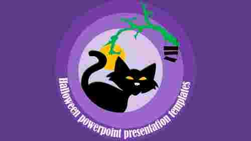 Design halloween powerpoint presentation templates