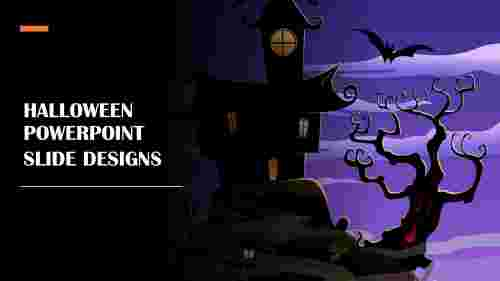 Awesome Halloween powerpoint slide designs