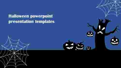 halloween powerpoint presentation templates model