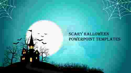 Creative scary halloween powerpoint templates
