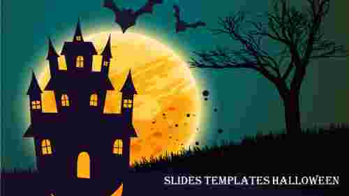 google slides templates halloween slide