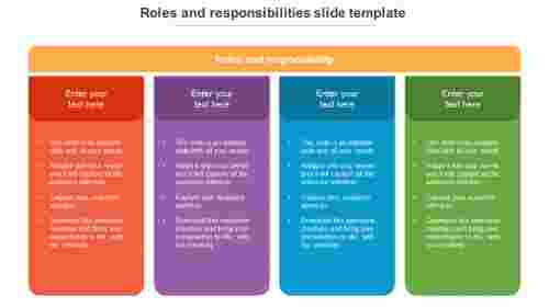 roles and responsibilities slide template