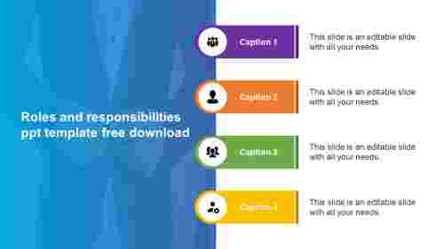 roles and responsibilities ppt template free download