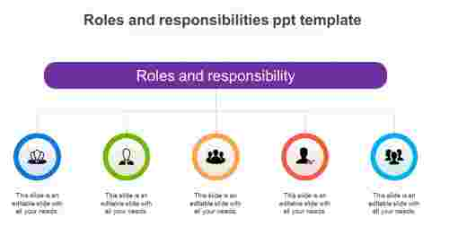 roles and responsibilities ppt template
