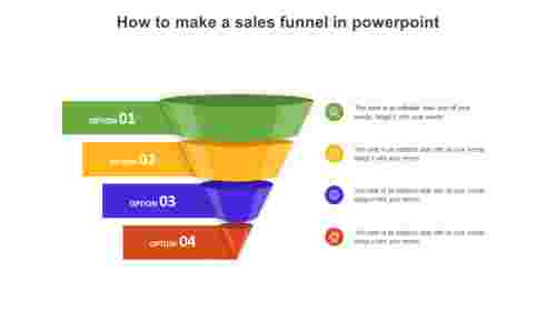 How To Make A Sales Funnel In Powerpoint Template