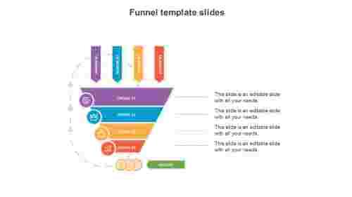 Process funnel template google slides