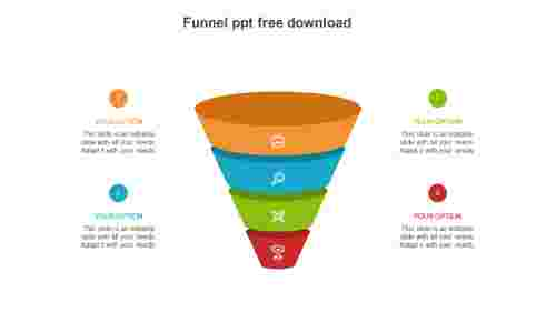 funnel ppt free download PowerPoint template