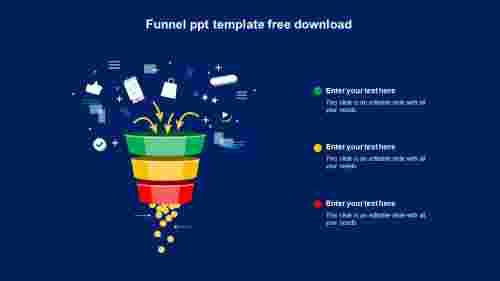 funnel ppt template free download slide