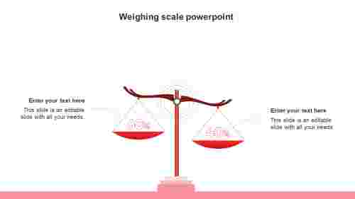 weighingscalepowerpointtemplate