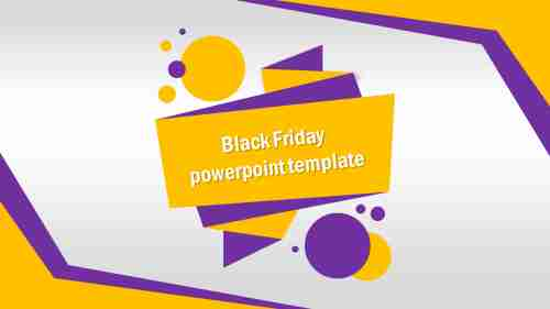 black friday powerpoint template