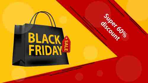 Stunning Black Friday PowerPoint Presentation Slide