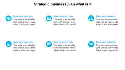 strategic business plan what is it