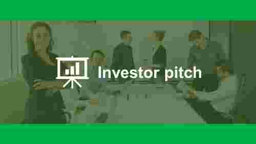 Sample investor pitch template ppt