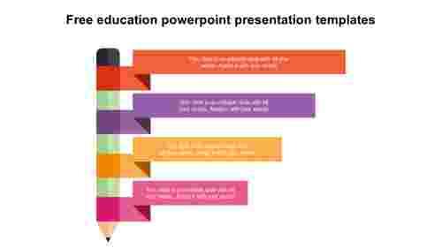 free education powerpoint presentation templates design