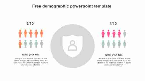 free demographic powerpoint template