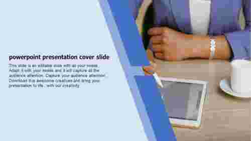 powerpoint presentation cover slide template