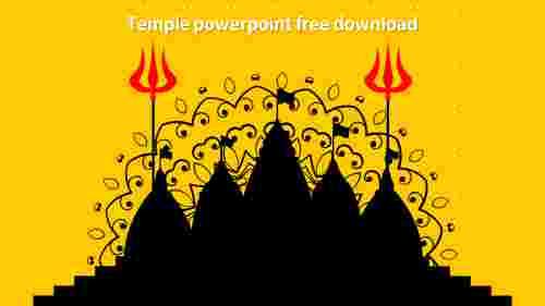 templepowerpointfreedownloadmodel