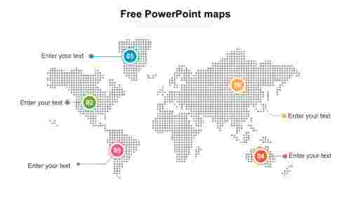 free powerpoint maps template