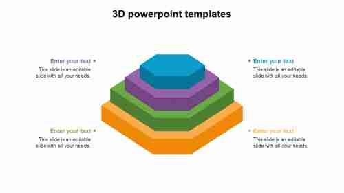 3dpowerpointtemplatesstackmodel