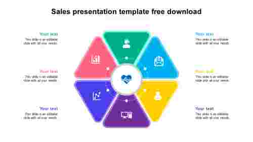 Model sales presentation template free download