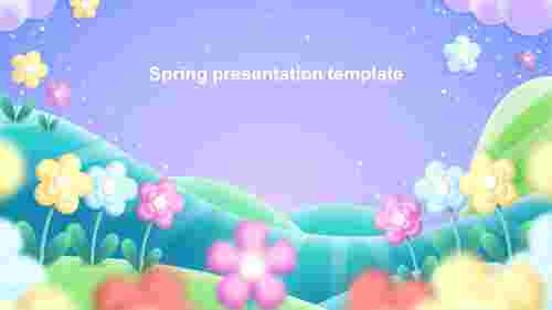 springpresentationtemplateslide