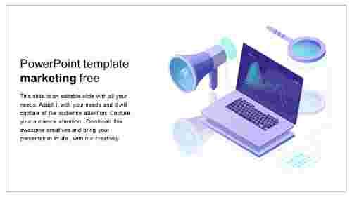 powerpoint template marketing free design