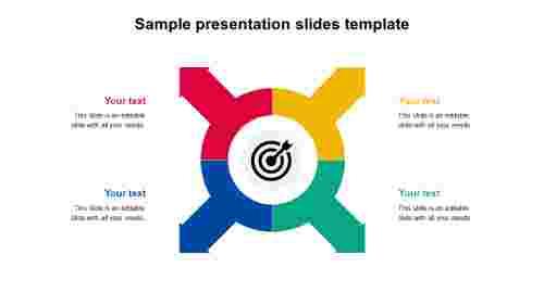 sample presentation slides template design